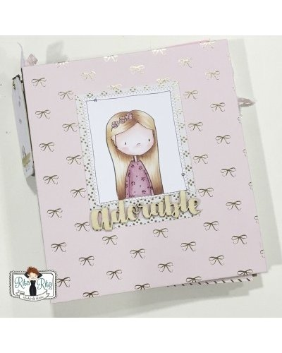 Adorable scrapbook anual SÓLO TUTORIAL