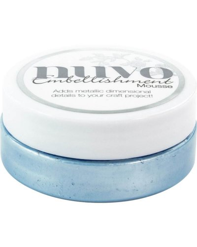 Nuvo mousse corn flower blue