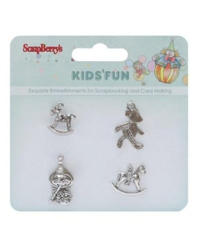 Adorno metal Kids Fun