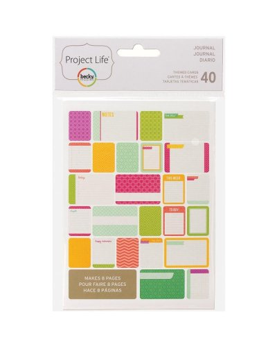 Project Life Cards Journal