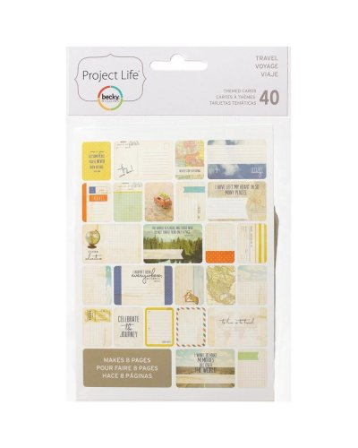 Project Life Cards Viaje