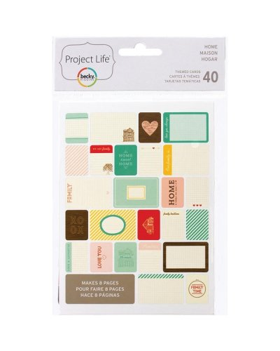 Project Life Cards Home