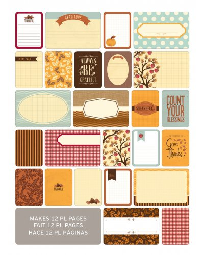 project Life Cards Otoño