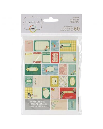 project Life Cards Primavera