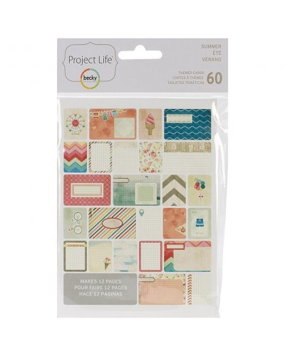 project Life Cards Verano