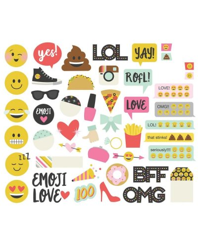 Emoji love   die cuts