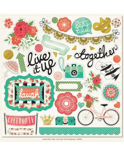 Live it Up  Chipboard