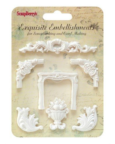 Resina Exquisite Embellishments vegetal