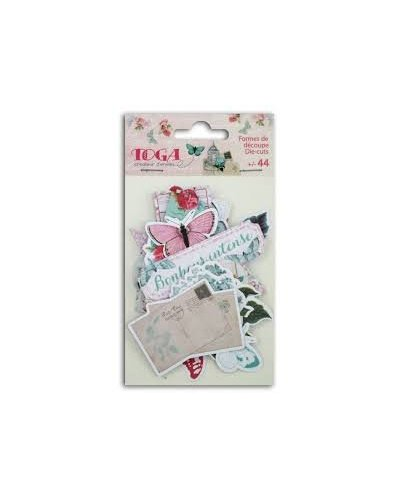 Shabby love die cuts
