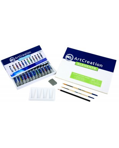 Pack acuarela 24 colores