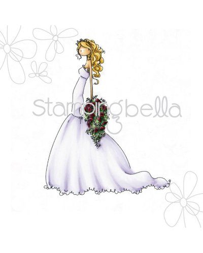 Sello Stampingbella Uptown Girls Brigitte the bride