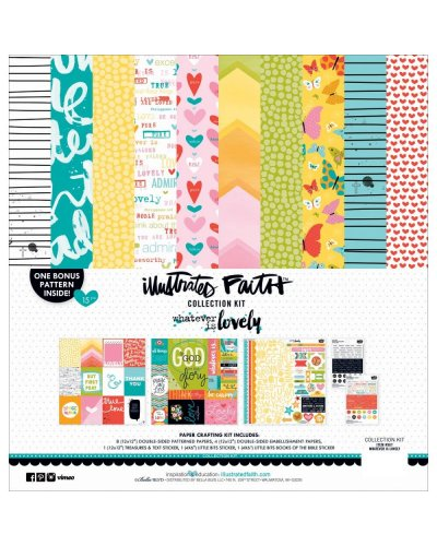 Kit Ilustrated Faith Bright and Brave para Bella Blvd