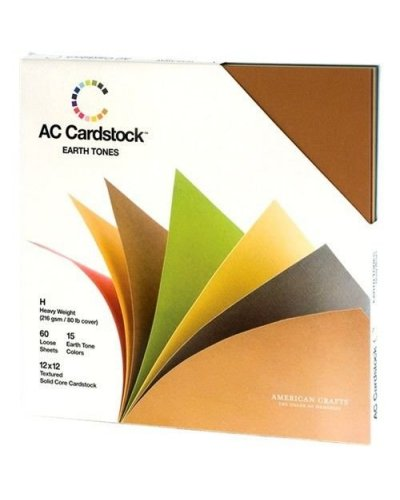 Pack AC Cardstock Earth Tones