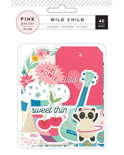 Die cuts Wild Child Ppasley