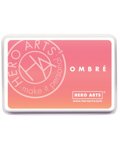 Tinta Hero Arts ombré dark peach