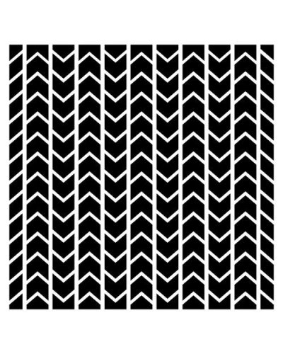 Mascara ScrapBerry's Chevron Pattern
