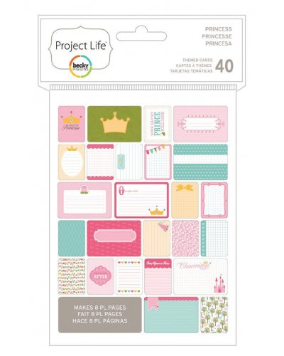 Project Life Card princesas
