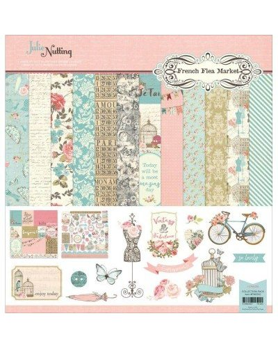 Kit Photo Play Paper French flea market