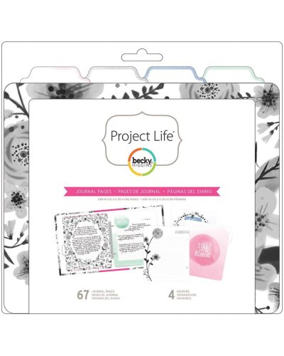 Project Life relleno para diario journal