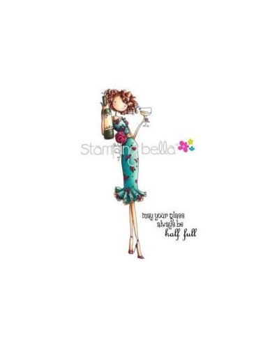 Sello Stampingbella Uptown Girl Opal the Optimist