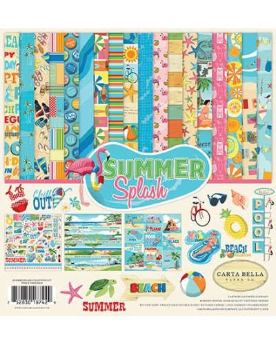 Kit Carta Bella Summer Splash