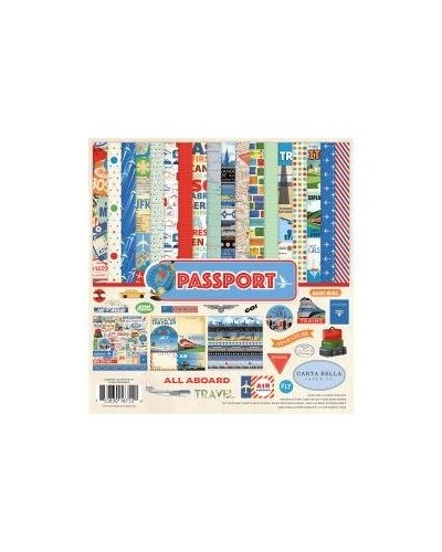 Kit Carta Bella Passport