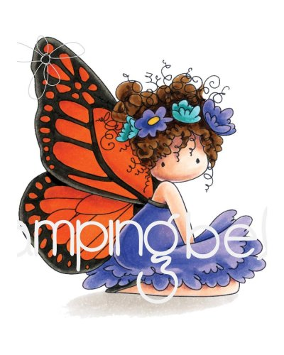 Sello Stampingbella Tiny Townie Bess the Butterfly