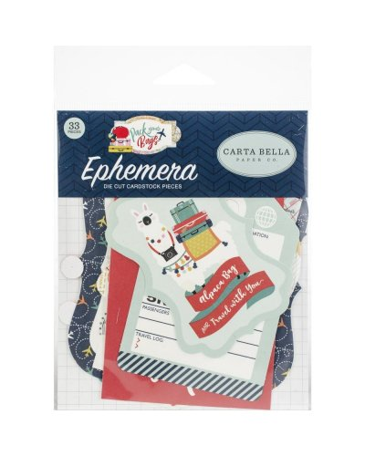 Die cuts Carta Bella Fall Break Ephemera