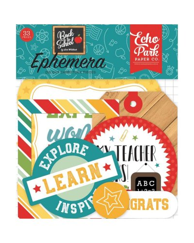 Die cuts EchoPark Back To School Frames & Tags