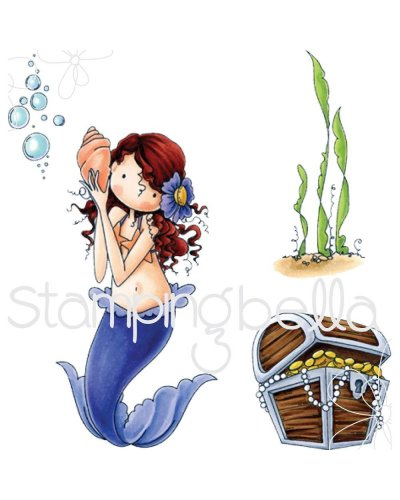 Sello Stampingbella Mermaid