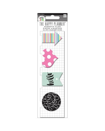 Clips magnéticos Happy Planner, Rose